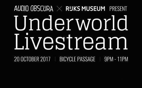 Underworld livestream from Rijksmuseum
